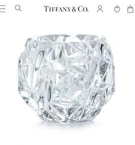 Tiffany & Co Crystal Votive Holder